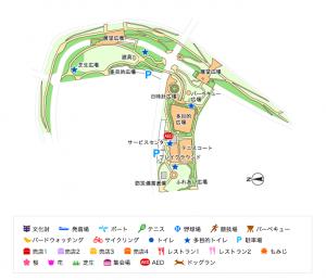 汐入公園地図