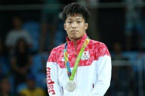 8月14日、リオデジャネイロ五輪、レスリングの男子グレコローマンスタイル59キロ級決勝、太田忍は2015年世界王者のイスマエル・ボレロモリナに敗れ、銀メダル(2016年 ロイター/Toru Hanai)