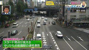リオ五輪凱旋パレード新橋駅連絡通路