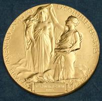 ノーベル賞化学賞メダル裏