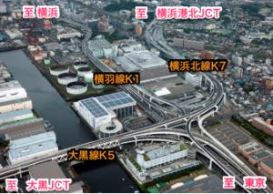 横浜北線生麦JCT