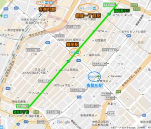 銀座8丁目〜銀座通り口リオ凱旋パレード