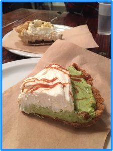 パイホールLAMatcha green tea pie