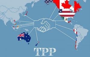 ドナルド大統領TPP