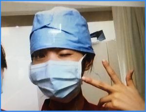 元看護師「萬波ユカ」モデル-看護師