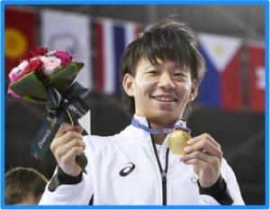 元体操田中理恵さんと山本雅賢さん